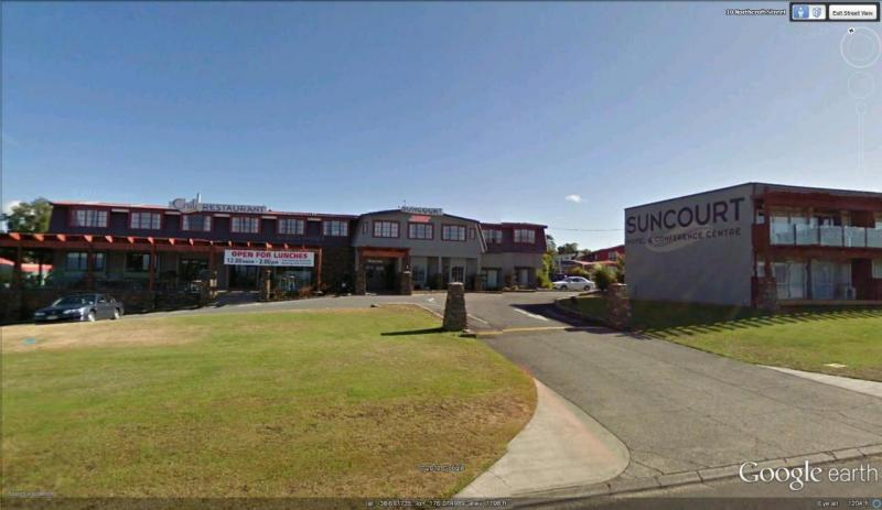 Suncourt Motor Hotel  Taupo  Waikato